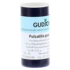 PULSATILLA PRATENSIS C 200 Einzeldosis Globuli 0.5 Gramm N1 - Linke Seite