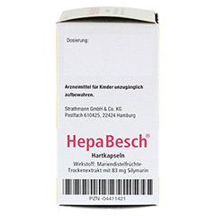 HepaBesch Hartkapseln 50 Stück N2 - Linke Seite