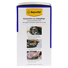 BAY O PET Zahnpfl.Kaustreif.f.kl.Hunde 140 Gramm - Linke Seite