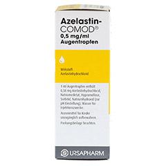 AZELASTIN-COMOD 0,5 mg/ml Augentropfen 10 Milliliter - Rechte Seite