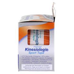 KINESIOLOGIE Sport Tape 5 cmx5 m orange 1 Stück - Rechte Seite