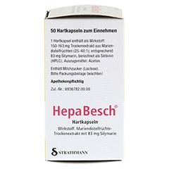 HepaBesch Hartkapseln 50 Stück N2 - Rechte Seite