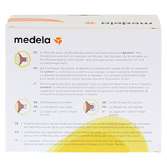 MEDELA Personal Fit Brusthaube Gr.S 2 St 1 Packung - Rückseite