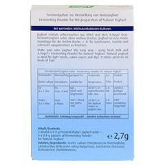 VITAL FERMENT Joghurt natur Beutel 3x0.9 Gramm - Rückseite