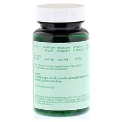 CURCUMA 200 mg Kapseln 90 Stück - Rückseite