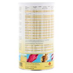 SANFORM Protein Latte Macchiato Pulver 425 Gramm - Rückseite