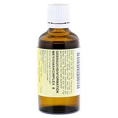 MERIDIANKOMPLEX 8 Tropfen zum Einnehmen 50 Milliliter N1 - Rückseite