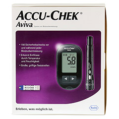 ACCU CHEK Aviva III Set mmol/l 1 Stück - Rückseite