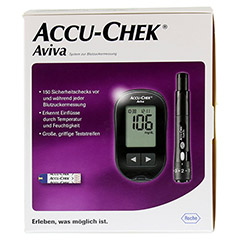 ACCU-CHEK Aviva III Set mg/dl 1 Stück - Rückseite