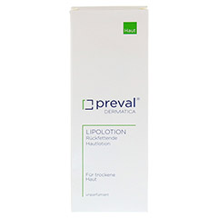 PREVAL Lipolotion 500 Milliliter - Rückseite