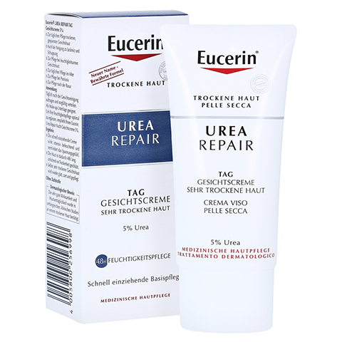 Eucerin Urearepair Gesichtscreme 5% Tag 50 Milliliter