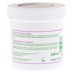 MELKFETT SOFT mit Sanddornöl & Vitamin E 250 Milliliter - Rückseite