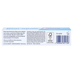 BIOREPAIR Zahncreme plus 75 Milliliter - Unterseite