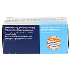 DEDREI vital Tabletten Kurpackung 180 Stück - Unterseite