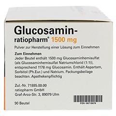 Glucosamin-ratiopharm 90 Stück - Rechte Seite