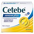 CETEBE ABWEHR plus Vitamin C+Vitamin D3+Zink Kaps. 120 Stück
