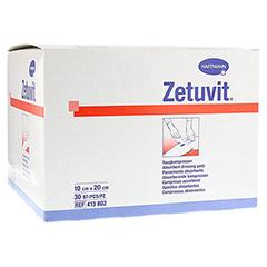 ZETUVIT Saugkompresse unsteril 10x20 cm 30 Stück