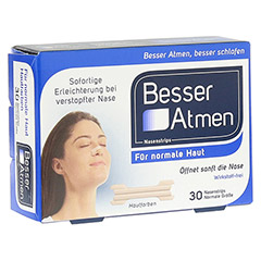 Besser Atmen Nasenstrips beige 30 Stück