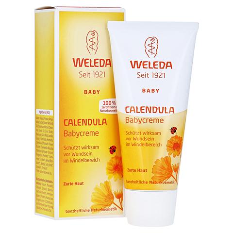 WELEDA Calendula Babycreme classic 75 Milliliter