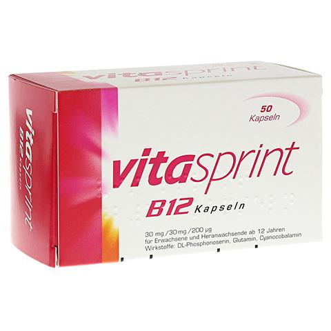 VITASPRINT B12 Kapseln 50 Stück