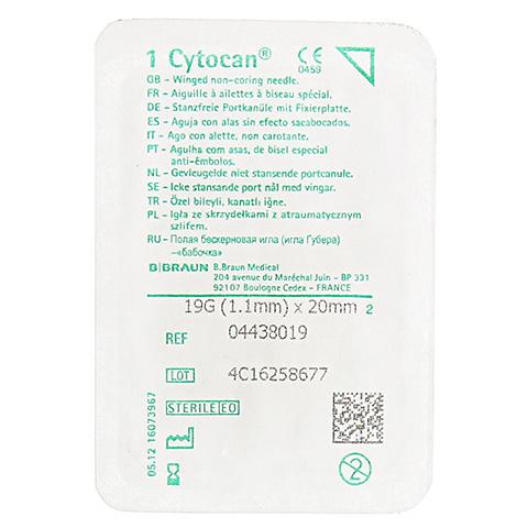 CYTOCAN Portkanüle 19 G 20 mm 1 Stück