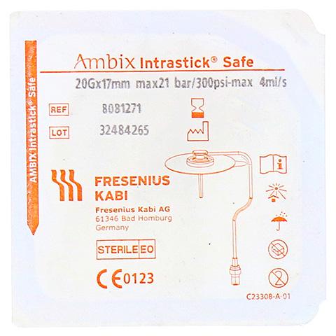 AMBIX Intrastick Safe 20 Gx17 mm druckfest 1 Stück