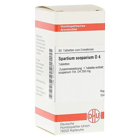 SPARTIUM SCOPARIUM D 4 Tabletten 80 Stück N1