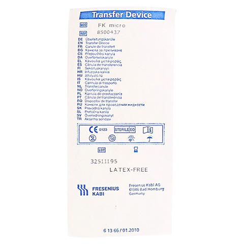 TRANSFER DEVICE FK Micro 1 Stück