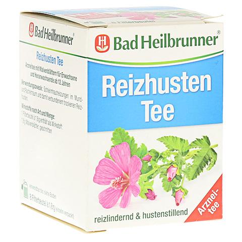 BAD HEILBRUNNER Reizhusten Tee Filterbeutel 8x1.8 Gramm