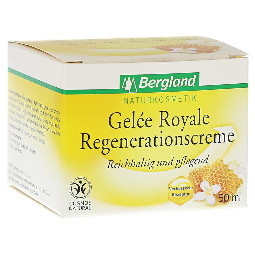 GELEE ROYALE Regenerationscreme BDIH 50 Milliliter