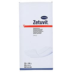 ZETUVIT Saugkompresse steril 10x20 cm 25 Stück - Vorderseite