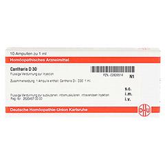 CANTHARIS D 30 Ampullen 10x1 Milliliter N1 - Vorderseite