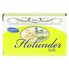 KAPPUS Holunder Seife 50 Gramm - Vorderseite