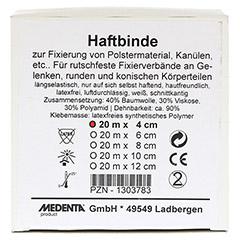 HAFTBINDE elastisch 4 cmx20 m 1 Stück - Vorderseite