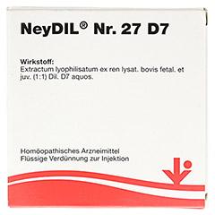 NEYDIL Nr.27 D 7 Ampullen 5x2 Milliliter N1 - Vorderseite