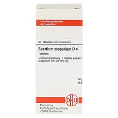 SPARTIUM SCOPARIUM D 4 Tabletten 80 Stück N1 - Vorderseite