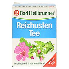 BAD HEILBRUNNER Reizhusten Tee Filterbeutel 8x1.8 Gramm - Vorderseite