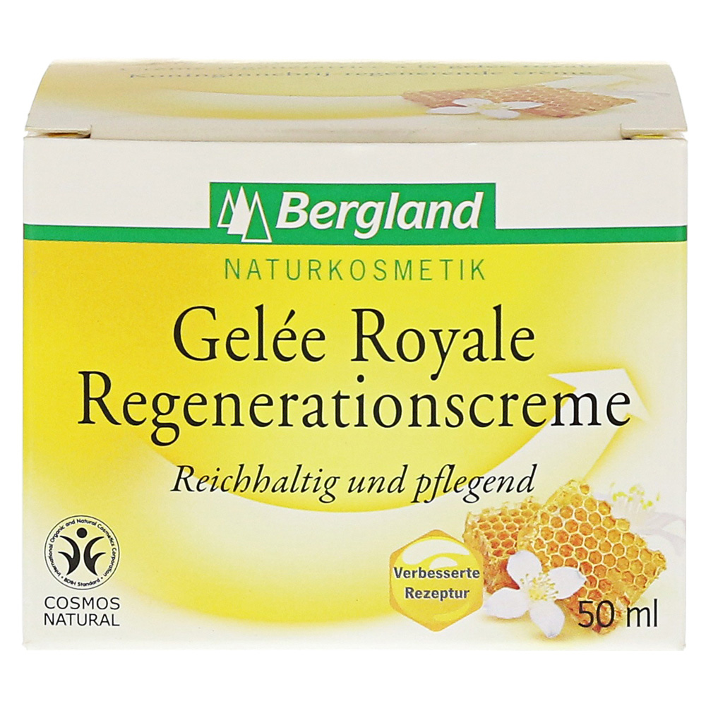 gelee royale regenerationscreme bdih 50 milliliter online bestellen medpex versandapotheke. Black Bedroom Furniture Sets. Home Design Ideas