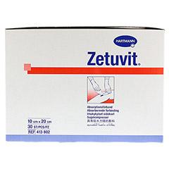 ZETUVIT Saugkompresse unsteril 10x20 cm 30 Stück - Rechte Seite