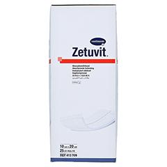 ZETUVIT Saugkompresse steril 10x20 cm 25 Stück - Rechte Seite