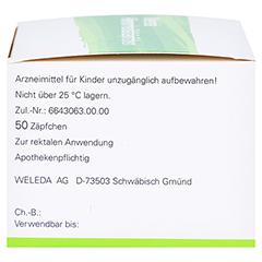 HÄMORRHOIDAL Zäpfchen 50 Stück N2 - Rechte Seite