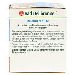 BAD HEILBRUNNER Reizhusten Tee Filterbeutel 8x1.8 Gramm - Rechte Seite