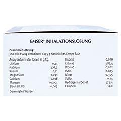 EMSER Inhalationslösung 100 Stück - Rechte Seite