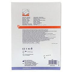 ZETUVIT Saugkompresse steril 10x10 cm 25 Stück - Rückseite