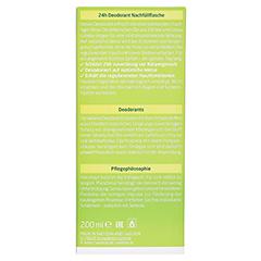 WELEDA Citrus Deodorant Nachfüllflasche 200 Milliliter - Rückseite