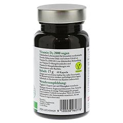 NICAPUR Vitamin D3 2000 vegan Kapseln 60 Stück - Linke Seite