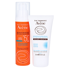 AVENE Cleanance Sonne SPF 50+ Emulsion + gratis Avène After-Sun Gel 50ml 50 Milliliter