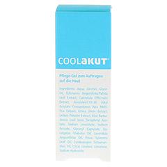 COOLAKUT Stich & Sun Pflege-Gel + gratis COOLAKUT Reisebeutel 30 Milliliter - Rückseite