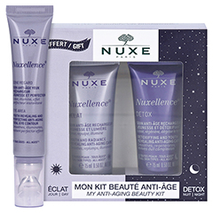 NUXE Nuxellence Yeux Creme + gratis Nuxellence Tag- und Nachtpflege 15 Milliliter