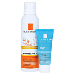 La Roche-Posay Anthelios Transparentes Spray XL LSF 50+ Körper Sonnenspray + gratis La Roche Posay Posthelios After-Sun 40 ml 200 Milliliter